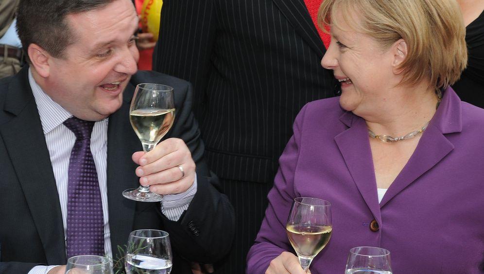 CDU-Kronprinzen: Mappus, McAllister und die Kanzlerin