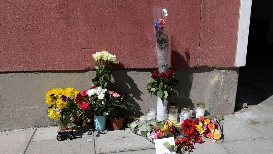 Gedenken für den getöteten 20-Jährigen