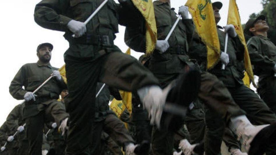 Hisbollah-Kämpfer in Beirut