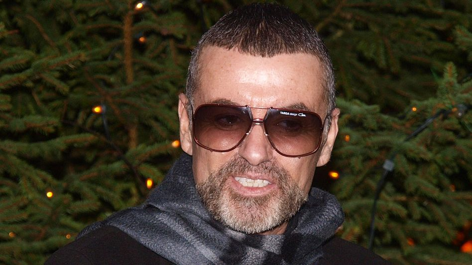Popstar George Michael