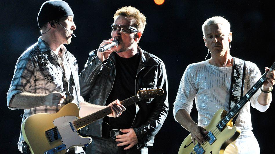 """U2-Sänger Bono: """"Ein Tropfen Größenwahn"""""""