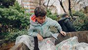 Wael, elf Jahre, Müllsucher
