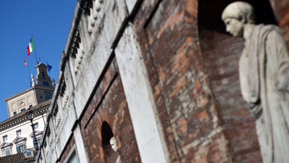 Quirinalspalast in Rom (Sitz des Präsidenten): Bei der Wahl zeichnet sich eine Lösung ab