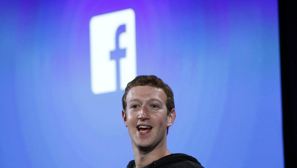 Facebook-Chef Mark Zuckerberg: superreich, aber abgehängt