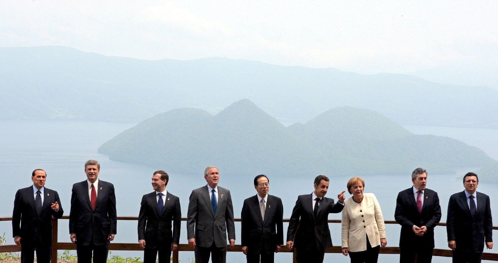 G8 Gipfel - Gruppenfoto