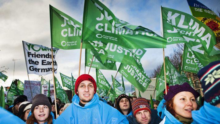 """Klimagipfel: Volksfeststimmung in """"Hopenhagen"""""""