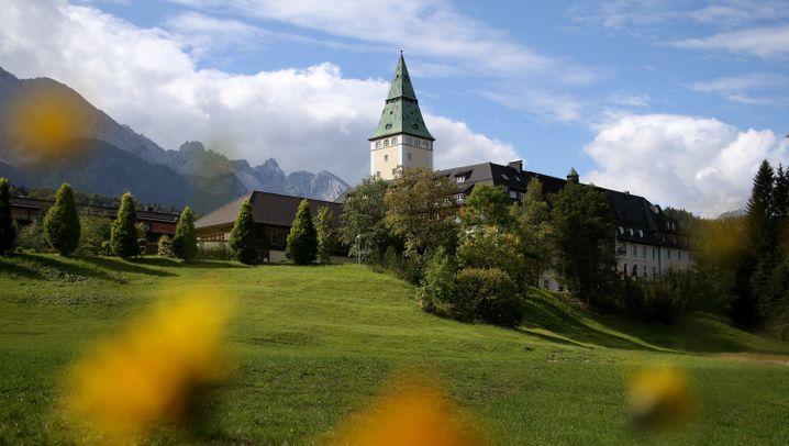 Schloss Elmau: Gipfel in den Bergen