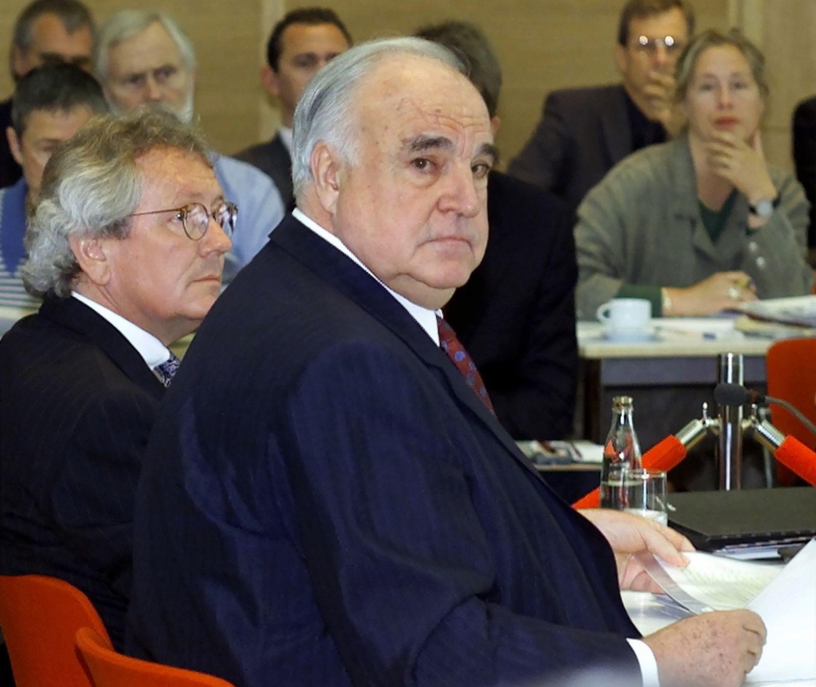 Helmut Kohl / Untersuchungsausschuss