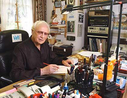 Ephraim Kishon: Der 80-Jährige starb in seinem Haus in Appenzell