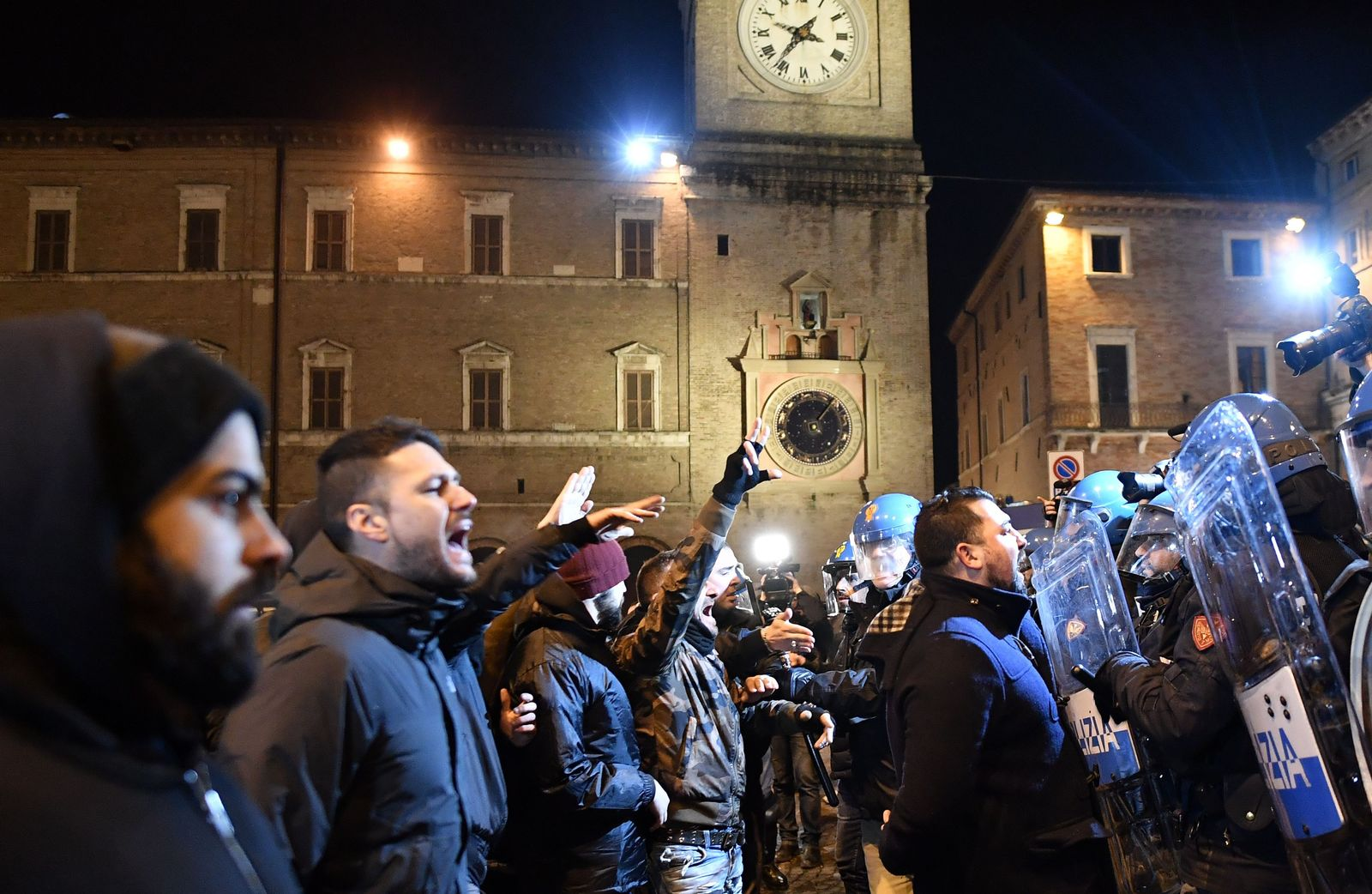 ITALY-POLITICS-FAR RIGHT-DEMO