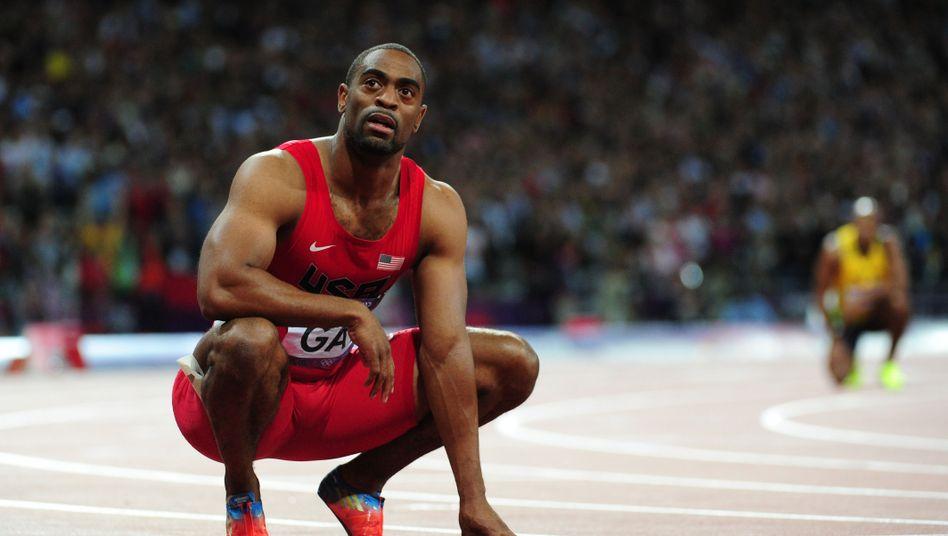 Gay: Wegen Dopings ein Jahr gesperrt