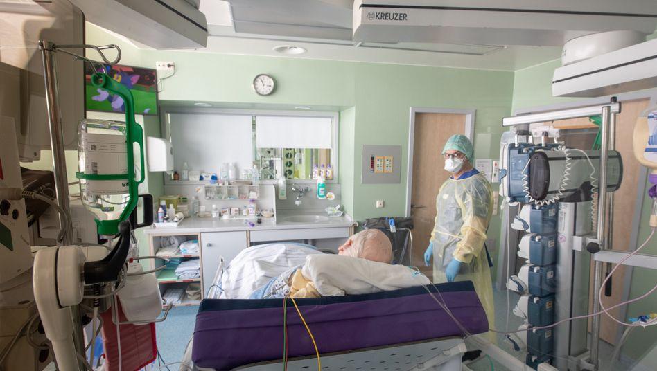 Ärzte in Gefahr: In Krankenhäusern ist das Infektionsrisiko hoch