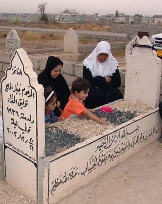 Irak: Familie trauert um Angehörigen