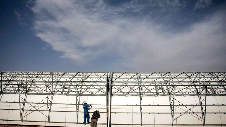Bau eines Solarwärmekraftwerks in Marokko: Hocheffiziente Stromerzeugung