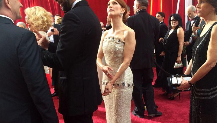 Oscar-Momente: Was Sie auf dem roten Teppich nicht gesehen haben