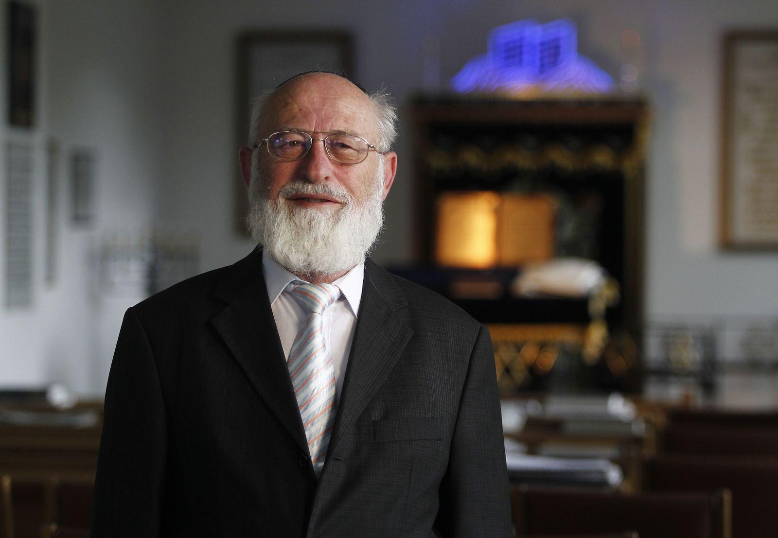 NICHT VERWENDEN Rabbiner David Goldberg