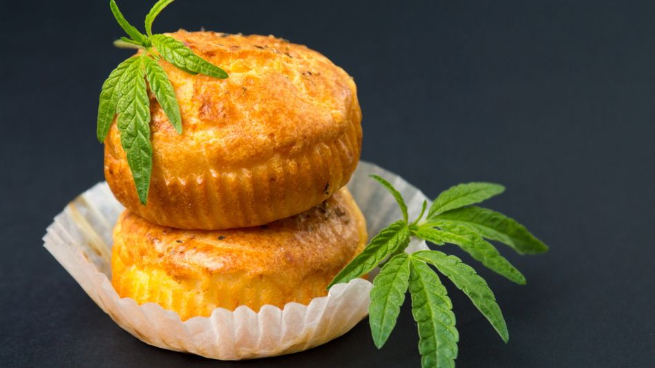 Cannabis-Cupcakes (Symbolbild)