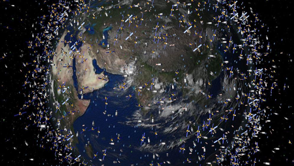 Weltraumschrott: Saubermachen im Orbit