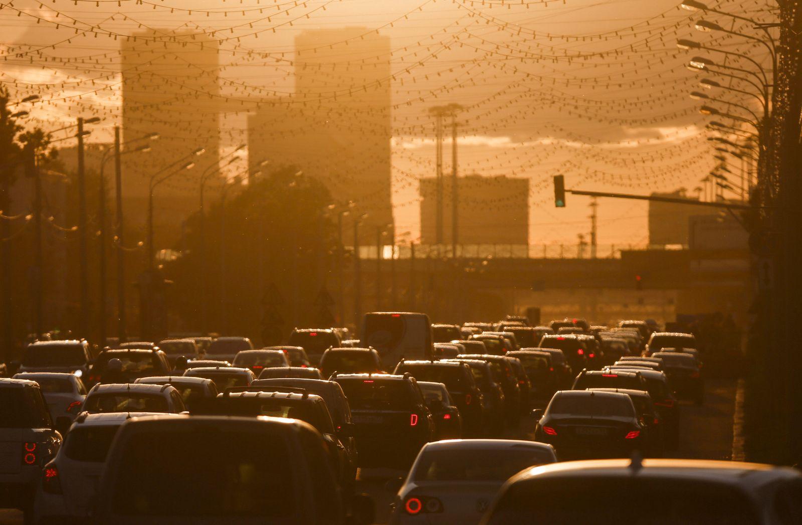 Verkehr Moskau