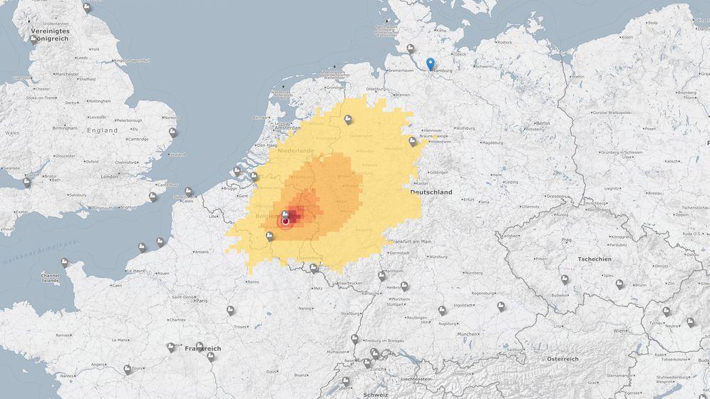 Atomkraft Diese Interaktive Karte Zeigt Das Strahlenrisiko Der