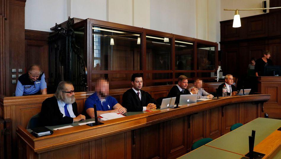 Angeklagte in Berliner Landgericht (Archiv)