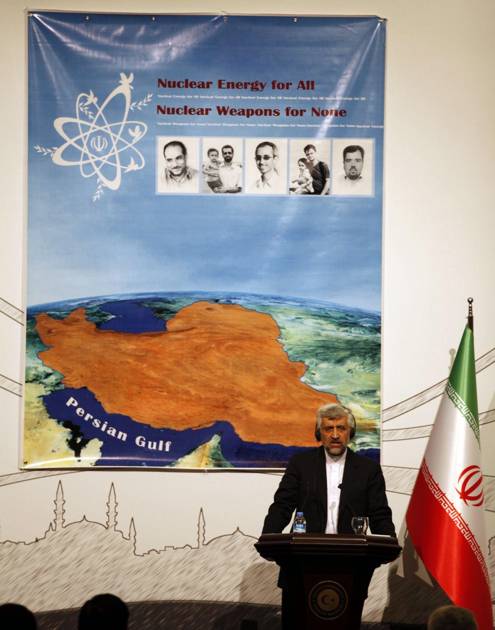 Saeed Jalili Atomgespräche mit Iran