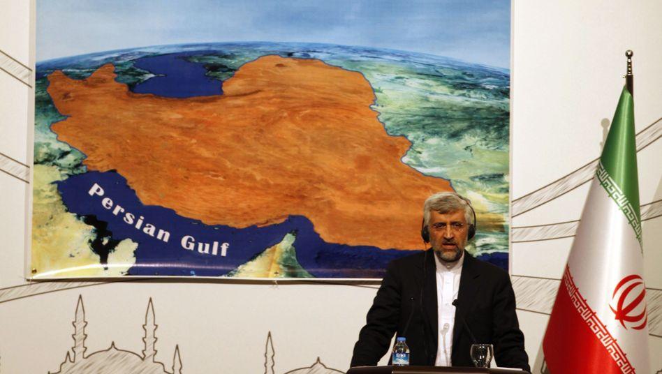 """Irans Unterhändler Jalili nach den Atomgesprächen: """"Unterschiedliche Meinungen"""""""