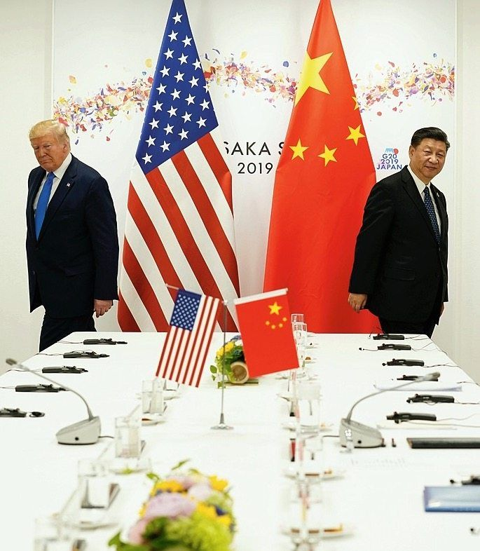 Trump and Xi in 2019: China is looking far less selfish than the U.S. in this crisis.