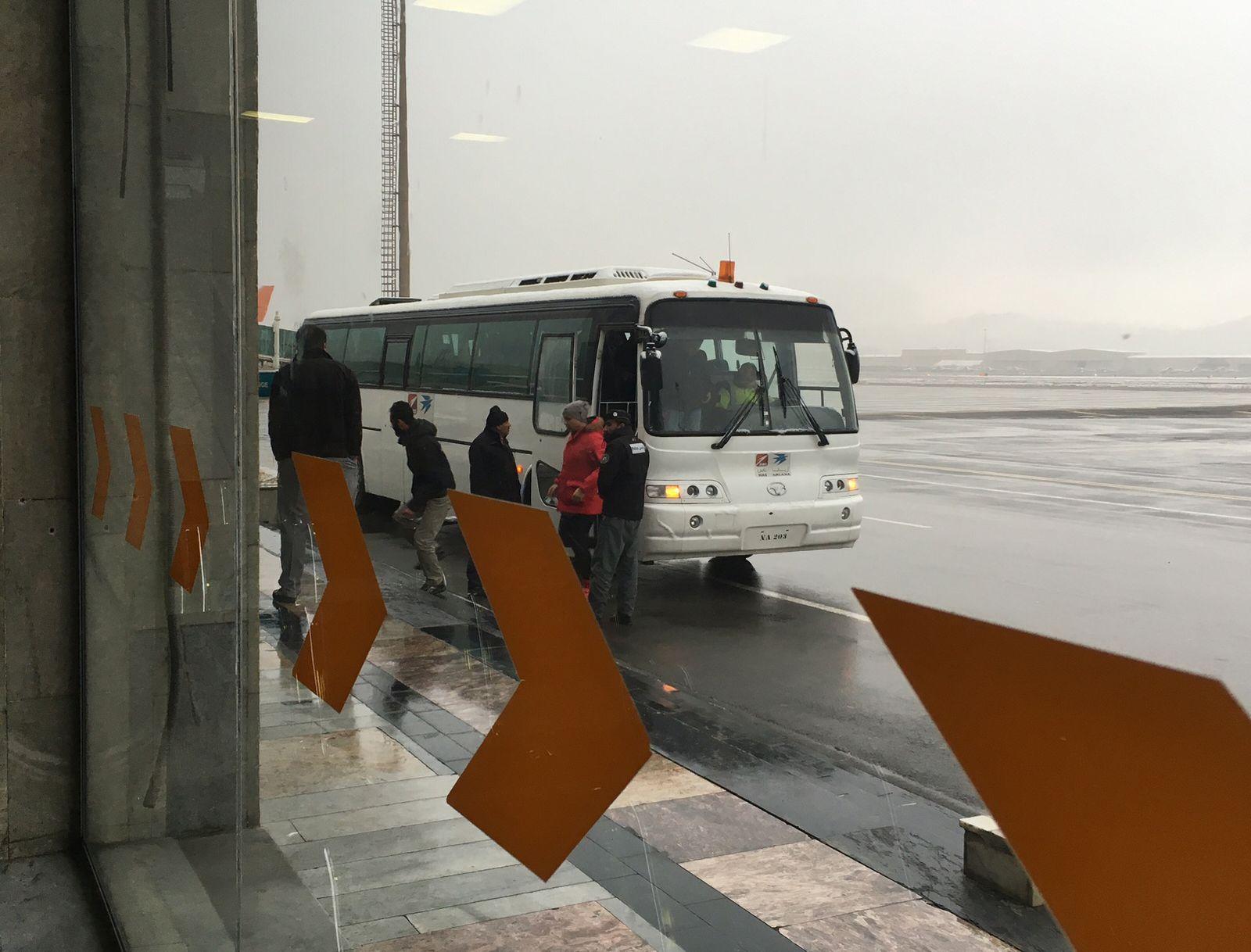 Abschiebung / Flughafen Kabul