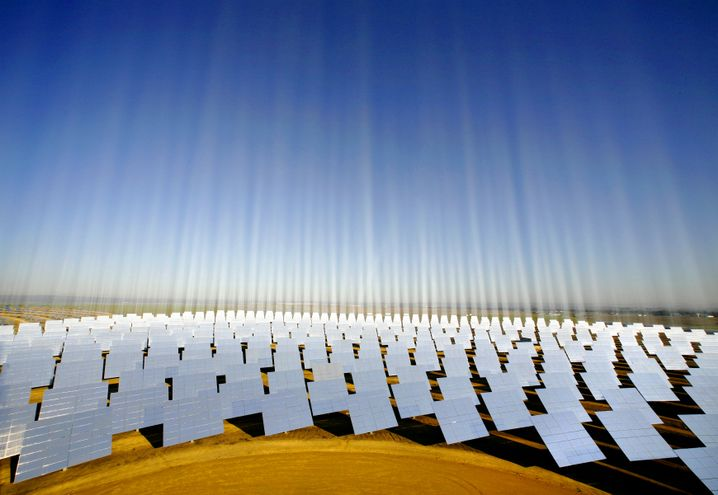 Solarpark im spanischen Sanlucar La Mayor: Großkonsortium will Energiepotential erschließen