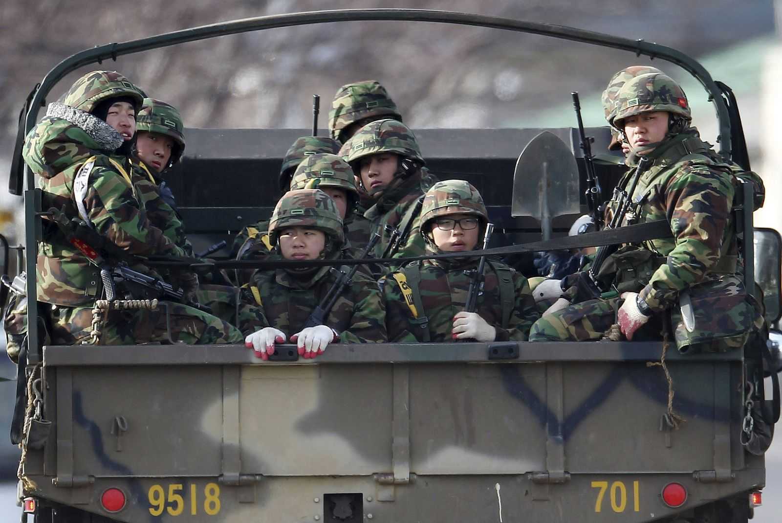South Korea Koreas Clash
