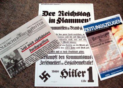 """""""Zeitungszeugen""""-Ausgabe mit Hitler-Plakat: Strafantrag gestellt"""