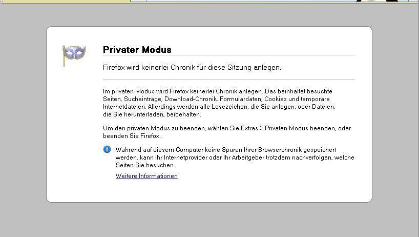 Sogenannter Privater Modus in Firefox: Nicht ganz so privat wie gedacht