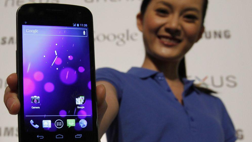 Samsungs Highend-Handy: Android 4.0 auf dem Galaxy Nexus