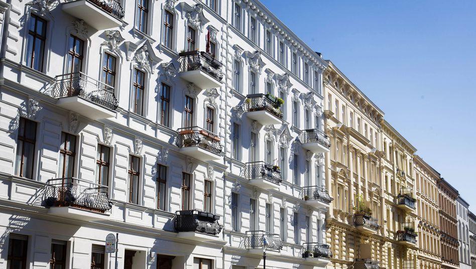 Auch schmutziges Geld lässt die Immobilienpreise steigen: Wohnhäuser in Berlin