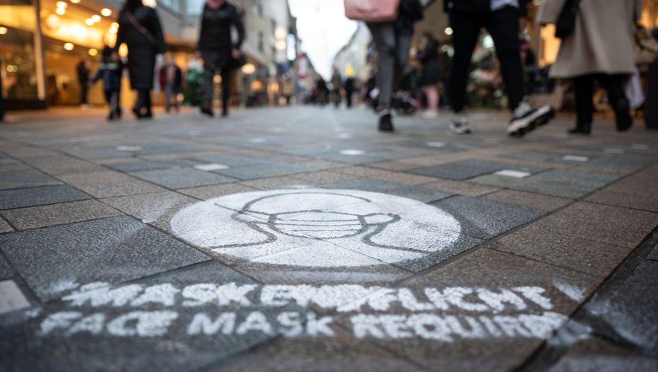Mund-Nasen-Schutz in Dortmund: Die Fallzahlen sind weiterhin sehr hoch