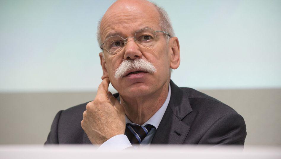 """Daimler-Chef Zetsche: """"Kein Grund, sich auszuruhen"""""""