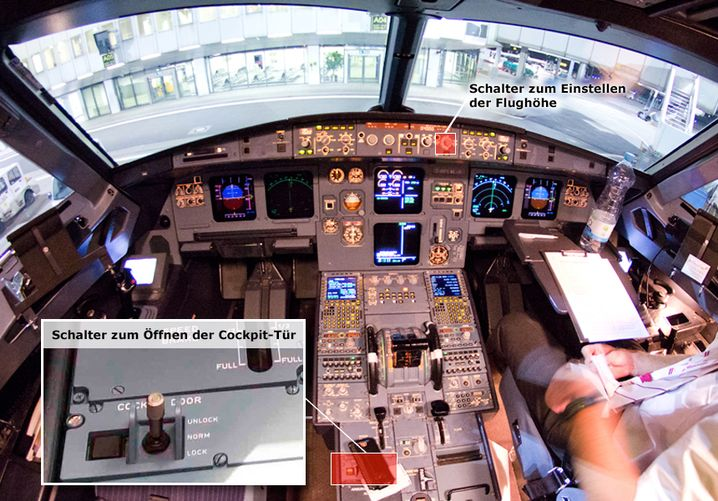 Blick ins Airbus-Cockpit