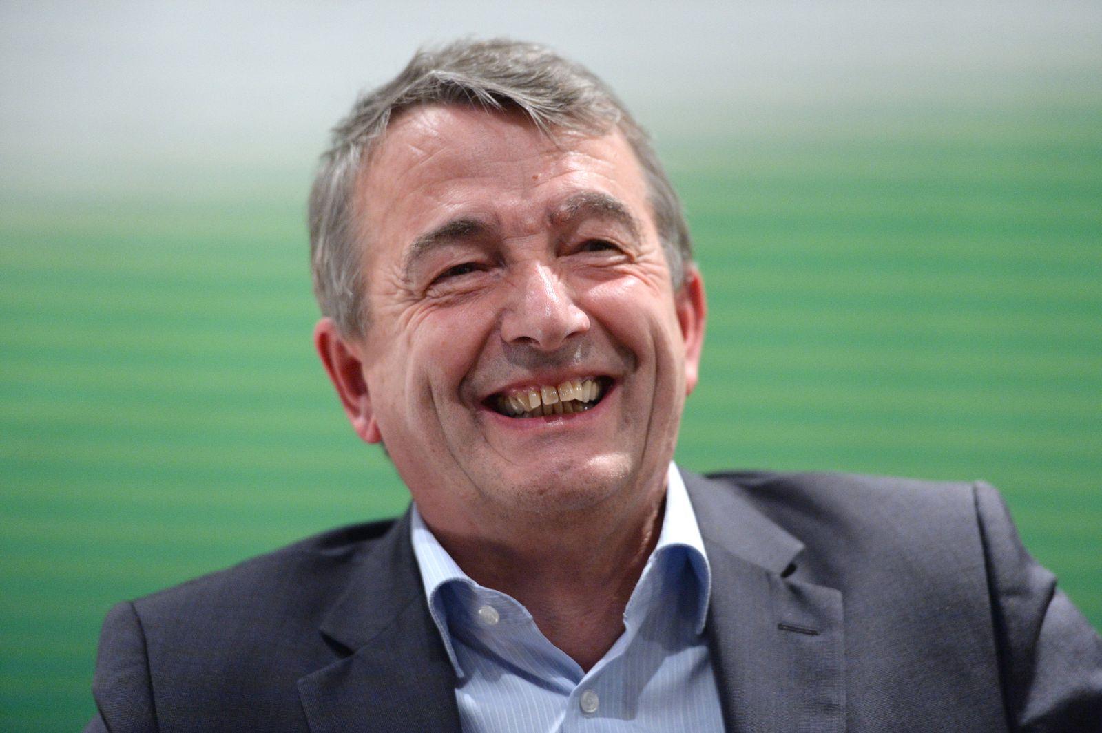 DFB-Päsident Wolfgang Niersbach in Hamburg
