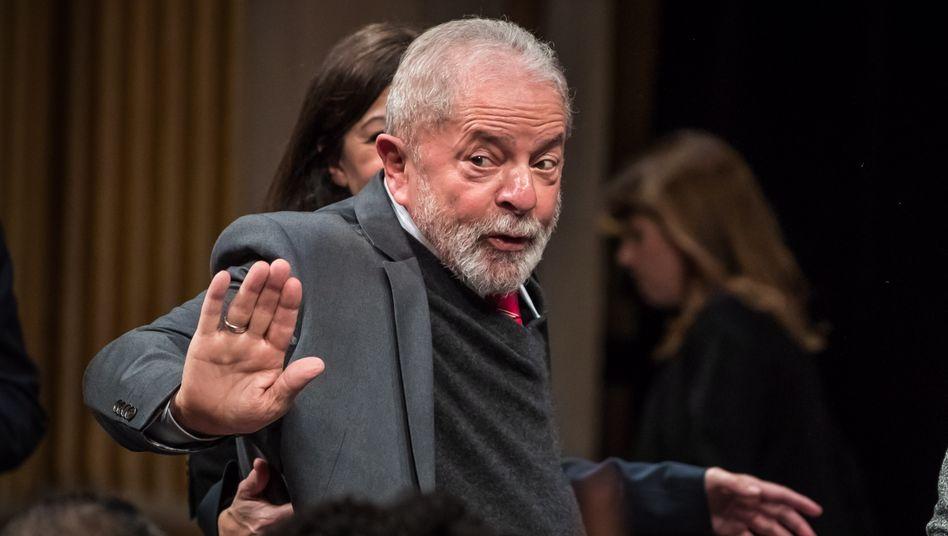 Brasiliens Ex-Präsident Lula da Silva könnte bei einem Freispruch im kommenden Jahr an den Wahlen teilnehmen