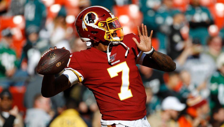 Der Helm benötigt ein neues Logo, das Shirt einen neuen Aufdruck: Die Washington Redskins ändern ihren Namen