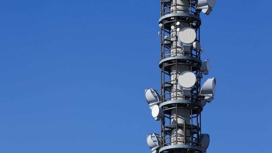 Mobilfunkantenne: Steuergeld für schnelle Netze