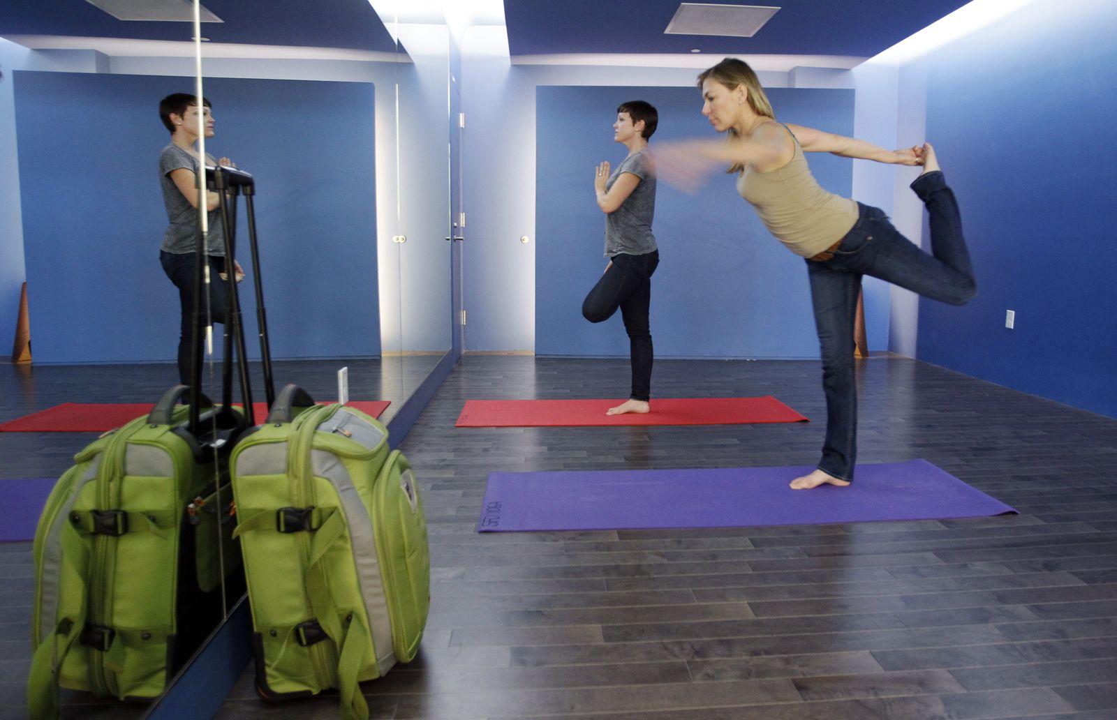 Flughafen / Yoga / San Francisco