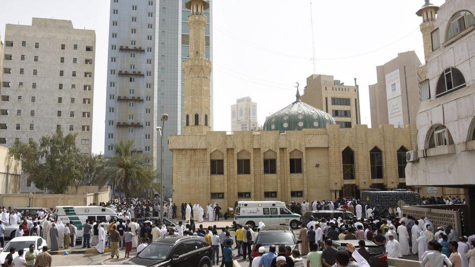 Tatort in Kuwait-Stadt: Viele Tote, zahlreiche Verletzte