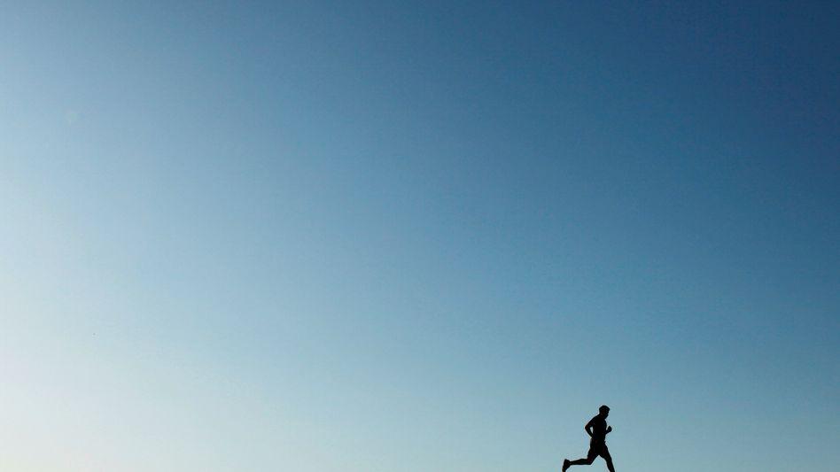 Jogger: Zweimal pro Woche reicht nicht