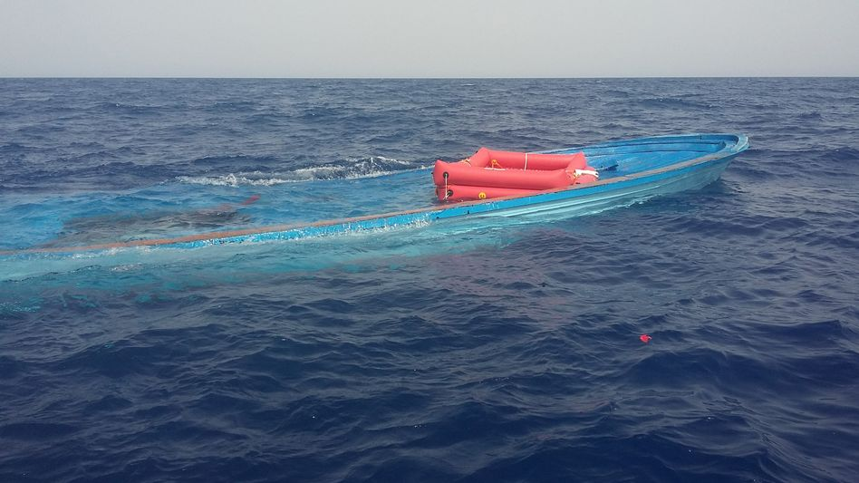 Immer wieder kommt es auf dem Mittelmeer zu schweren Unglücken, bei dem Menschen ums Leben kommen (Archivfoto)