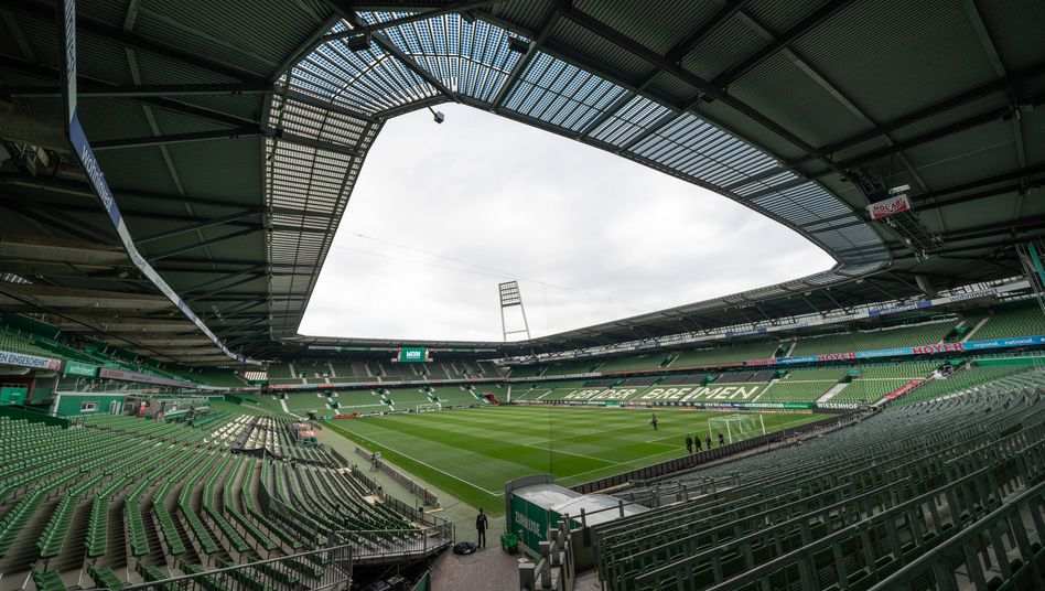 Bundesliga im Weserstadion
