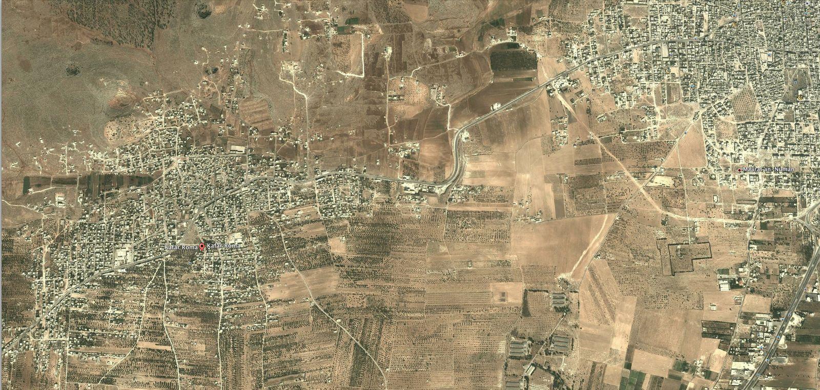 EINMALIGE VERWENDUNG SCREENSHOT/ Kafar Roma/ Syrien