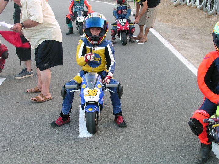 Ana Carrasco saß schon als kleines Mädchen auf dem Motorrad