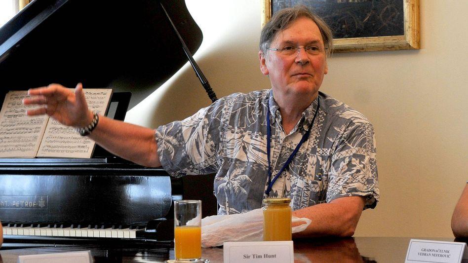 Nobelpreisträger Hunt: Glücksfall für jeden Diskurs um Gleichberechtigung
